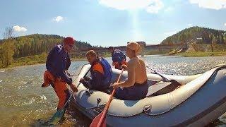 Поиск утонувшего мальчика на р.Инзер. Ежебудни спасателей.