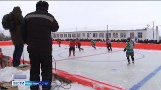 Осужденные исправительной колонии в Салавате сыграли в хоккей с командой журналистов