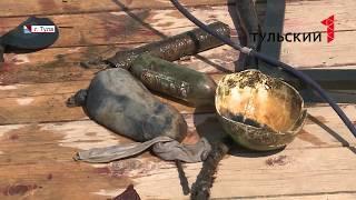 На дне: что водолазы нашли в пруду Центрального парка Тулы