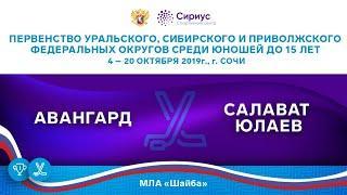 Хоккейный матч. 6.10.19. «Авангард» - «Салават Юлаев»