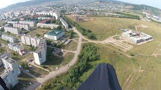 Уязы -  полет в город Октябрьский.