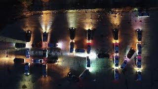 Автофлешмоб в Усть-Илимске, #У-И