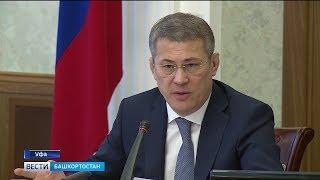 Запрет на продажу алкоголя и ямочный ремонт – темы оперативного совещания с Радием Хабировым