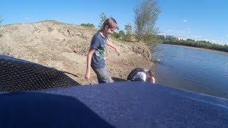 Vlog угар на тарзанке + искупался в ледяной воде