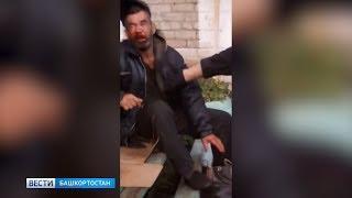 В Башкирии «разведчик» жестоко избил бездомного на глазах у детей
