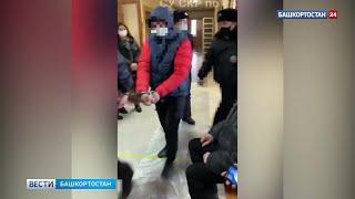 Появилось видео ареста предполагаемого виновника в смертельном ДТП в Башкирии