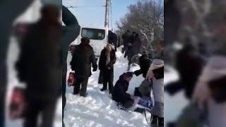 Очевидцы опубликовали видео с места аварии в Башкирии, где пострадали 20 человек