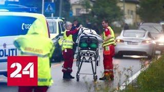 Инцидент со стрельбой в пригороде Осло получил продолжение - Россия 24