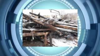 В Туймазинском районе горят дома и здания
