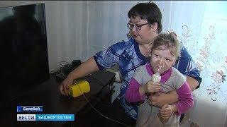 В Башкирии участковый полиции спас ребенка