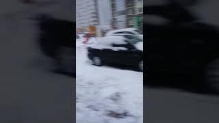 Укладка асфальта зимой. Благовещенск РБ