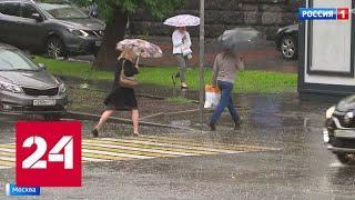 Непогода в столице: москвичей просят по возможности не выходить на улицу - Россия 24