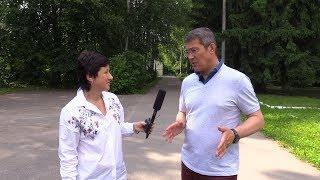 Глава округа Красногорск Радий Хабиров - о магазине инвестроектов и рождении сына