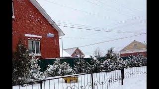 В Нефтекамск  приходит снежный апокалипсис.