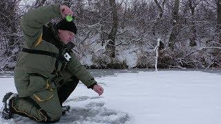 Зимняя рыбалка. Окунь Дуреет от этой Приманки. Рыбалка зимой на окуня 2018-2019
