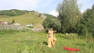 Восточный  танец на природе, Ишимбайский район, Башкирия
