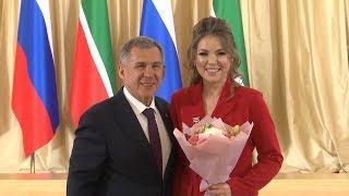 Минниханов вручил госнаграды России и Татарстана в Казанском Кремле