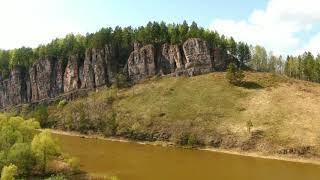 По берегам реки Сим и Юрюзань