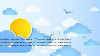 Погода в Бирске 11, 12, 13 октября 2019. На завтра, день, неделю