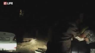 Избиение сотрудников ДПС камнями на Ставрополье попало на видео