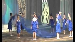 Мой вариант танца с тканью на городском фестивале