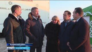 Радий Хабиров в ходе рабочей поездки посетил Буздякский и Илишевский районы