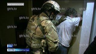 Появилось видео задержания в Уфе двух мужчин, обвиняемых в похищении бизнесмена
