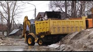 В Нижегородке весенний потоп