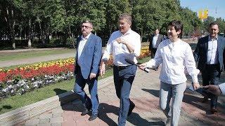 Новости UTV. Врио главы республики Радий Хабиров с рабочей поездкой посетил Стерлитамак