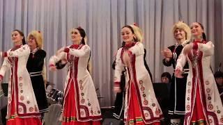 Государственный ансамбль народного танца им Ф. Гаскарова.  Башкирский танец с самоваром
