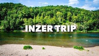 Отдых на реке Инзер 2016 | Зеркальный водопад | Башкортостан | Gopro