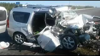 CrashNews.org/Авария на трассе Оренбург-Уфа