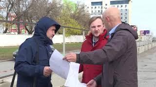 В Уфе начали ремонтировать улицу Комсомольскую