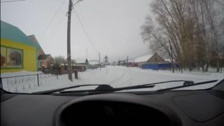 Стерлитамак-Ишеево ,одна из дорог в Башририи...