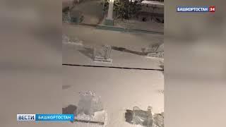 Жителей Башкирии возмутили подростки, сломавшие ледяные фигуры -
