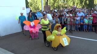 Парад колясок. День города и молодежи в Янауле