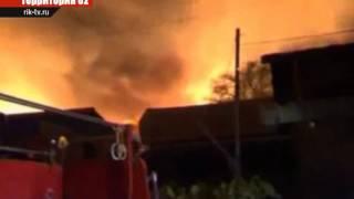 Пожар в Мьянме уничтожил сотни домов (#birsk #rik-tv)