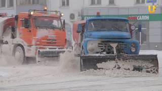 Новости UTV. В Салавате ликвидируют последствия снегопада