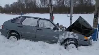 Появилось видео с места ДТП авто с поездом в Башкирии
