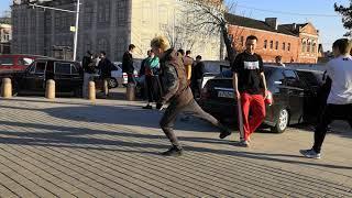 Танец под марш империи. звездные войны   Новые участники на Тусе Джусе.Стерлитамак На Мира ,танцы