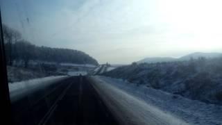 Дальнобой. КАМАЗ. Башкирия. Уральские горы. Красота.
