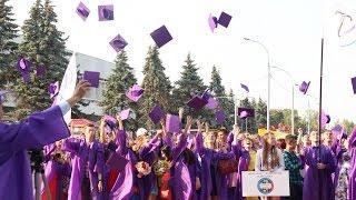 Выпускной в педагогическом университете. Ульяновск, 2015