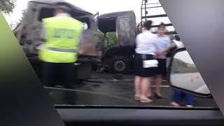В Башкирии в ДТП с автобусом сгорели четыре человека