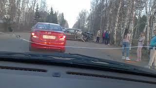 30.04.2018 Авария на Октябрьском шоссе