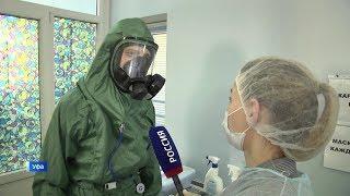 «Вести» побывали в инфекционной больнице Уфы, где лечат больных коронавирусом