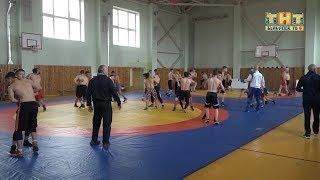 Тренировочные сборы борцов