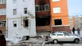 Взрыв в Мелеузе по Бурангулова 9 (Башкирия) 07.01.12 г.