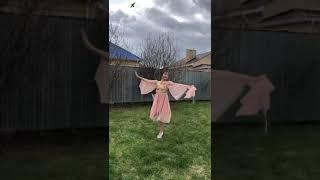 Танец Зары Алтынбаевой посвящённый дню победы