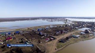 Жители Кармаскалинского района оказались изолированы из-за затопления