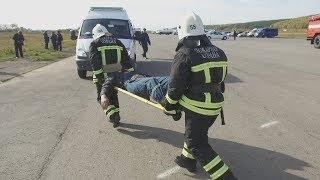 UTV.  Главное - скорость Корреспондент UTV побывал на масштабных учениях по ликвидации аварии